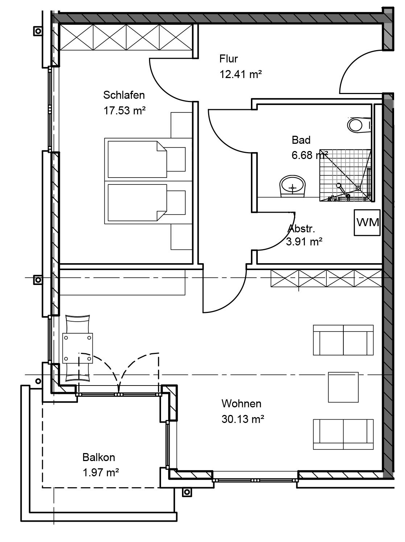 Grundriss Wohnung Kißlegg